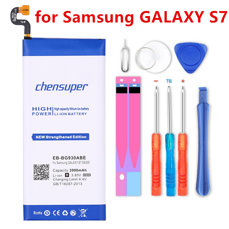 Chensuper 3900 mAh Батарея для samsung GALAXY S7 G9300 SM-G9300 G930L G930  G930F G930A