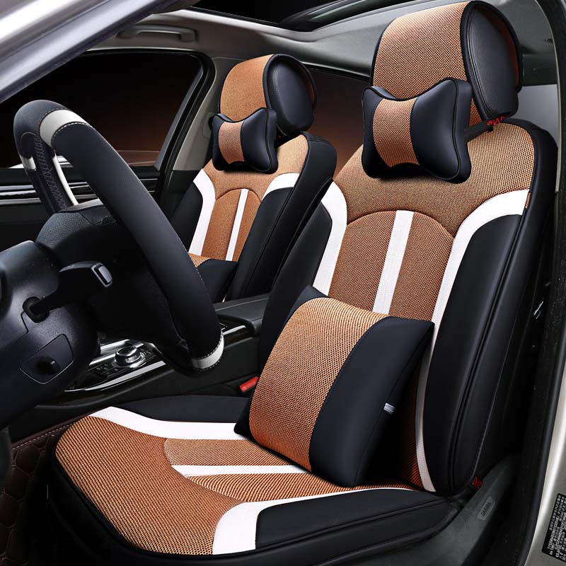 Bmw Z4 Seat Covers: Universal Car Seat Cover Microfiber Leather For BMW E72