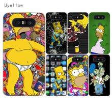 Uyellow Homer J.Simpson Phone Case For LG G4 G5 G6 G7 V10 V20 V30 V40 Q6 Q7 Q8 Cover K8 K10 2018 Shell For LG K8 K10 2017 Coque комплект постельного белья королевское искушение итальянка цвет розовый