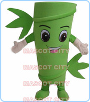 MASCOT Bamboo mascot costume wholesale for sale adult size cartoon bamboo tree theme anime cosplay costumes carnival 2798