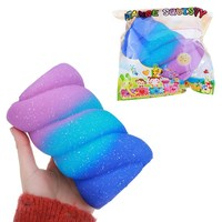Cotton Candy Marshmallow Squishy Toy 14CM Soft Squeeze Toy Big Size Super Slow Rising Toy Kid