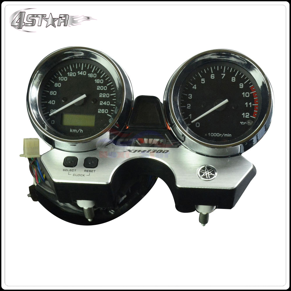 Motorcycle Accessories Speedometer Tachometer Instrument Gauge For YAMAHA XJR1300 XJR 1300 1998 1999 2000 2001 2002 2003