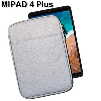 Waterproof xiaomi mi pad 4 Plus Case mipad 4 Cover 10 Cotton Fabric Tablet Sleeve Pouch Bag for IPAD 2 3 4 huawei M5 PRO 10.8 tote bag