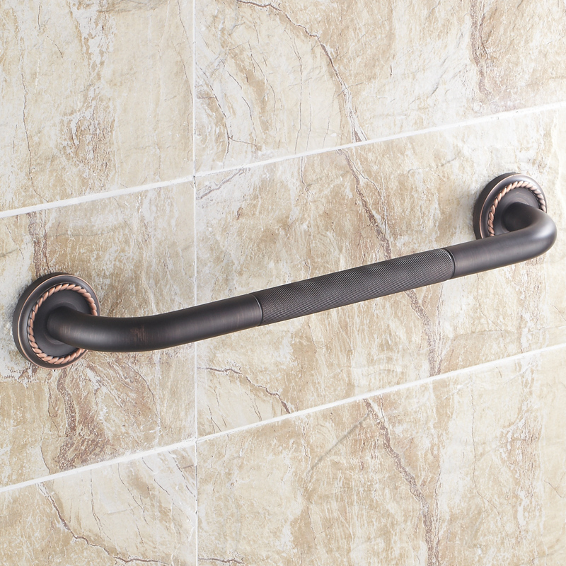 Antique Black Brush Bathtub Handrail Tub Safety Grab Bar Luxury ...