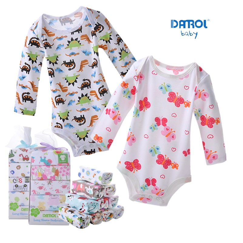 Infant Babys Long Sleeve Climb Jumpsuit I Love Paris Print Jumpsuit