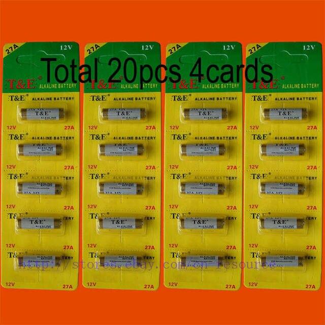 5 27 20 X 27a Mn27 12 V Pile Alcaline Dans Piles Sèches Et Primaires De Electronique Sur Aliexpress Com Alibaba Group