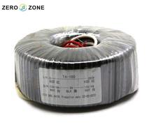 GZLOZONE TA-150 de 150 W 15V-0V-15V Toroïdal Transformateur 150VA Double 15 V Transformateur D'alimentation