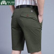 100% Cotton Summer Casual Shorts Men Military Solid Army Men Short Pan