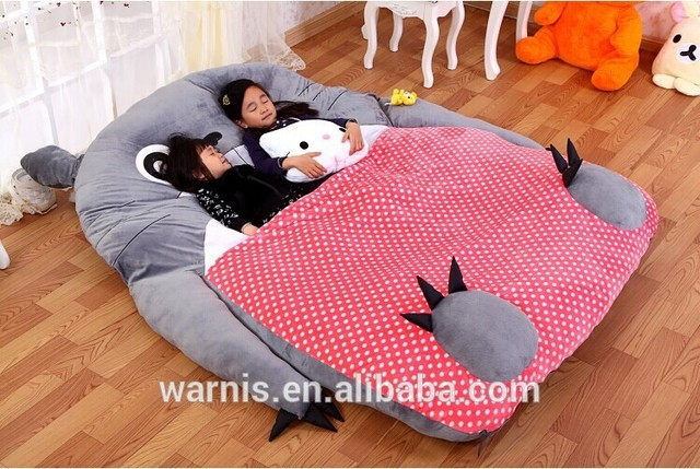 2m 1 8m Tatami Cartoon Totoro Double Bed Sleeping Portable Anime Toy