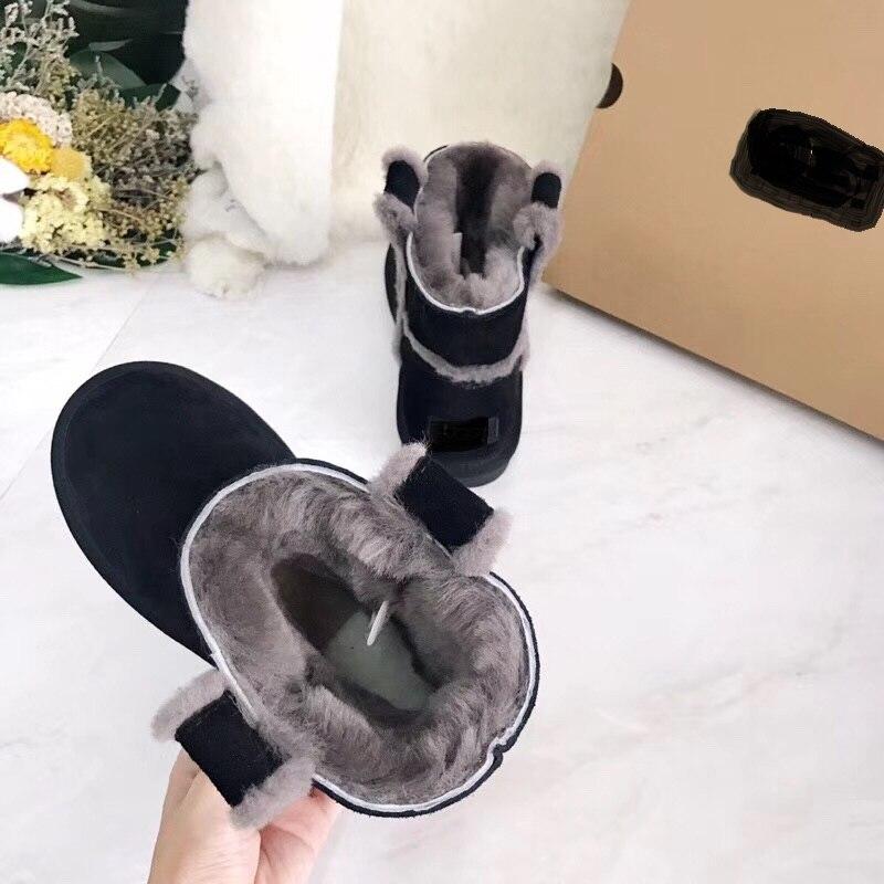 Botas Tipos La Verdadera Nieve gray Todos Han En 2018 Moda El Deliveryall De Son Y Lana Nuevo Zalea Invierno Black Colores Caliente Envío chestnut xvqT8z