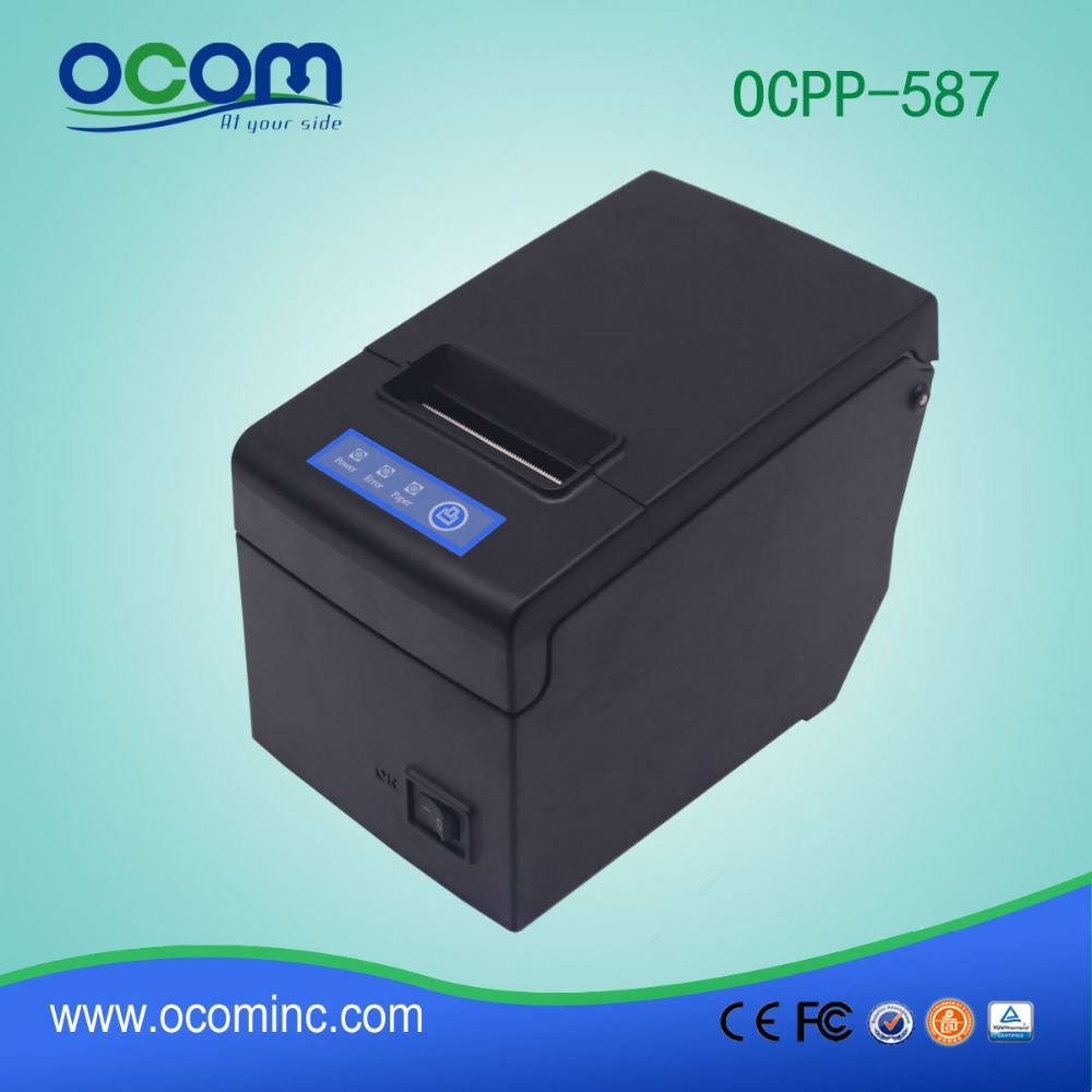 OCPP-587(LAN): Windows, Linux, Android and IOS System Supported Thermal Receipt Printer