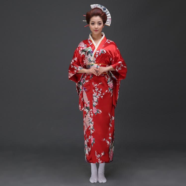 Kimono Jepun Kimono Tradisional Wanita Kimono Pakaian Wanita Yukata - Pakaian kebangsaan - Foto 2