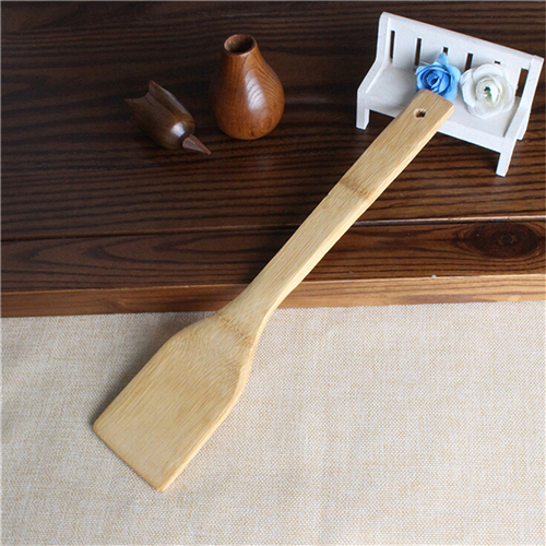 6 Pieces New Bamboo Spoon Spatula Kitchen Utensil Wooden Cooking Tool Mixing Set 11