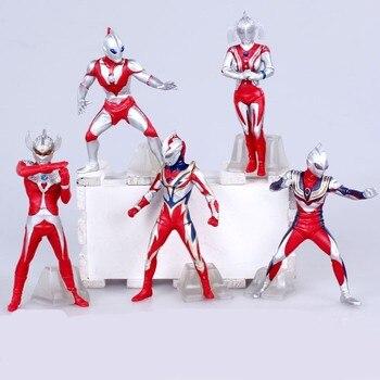Anime Tiga 8 Edition 5 adet/takım PVC Action Figure Koleksiyon Model Oyuncak 12 cm