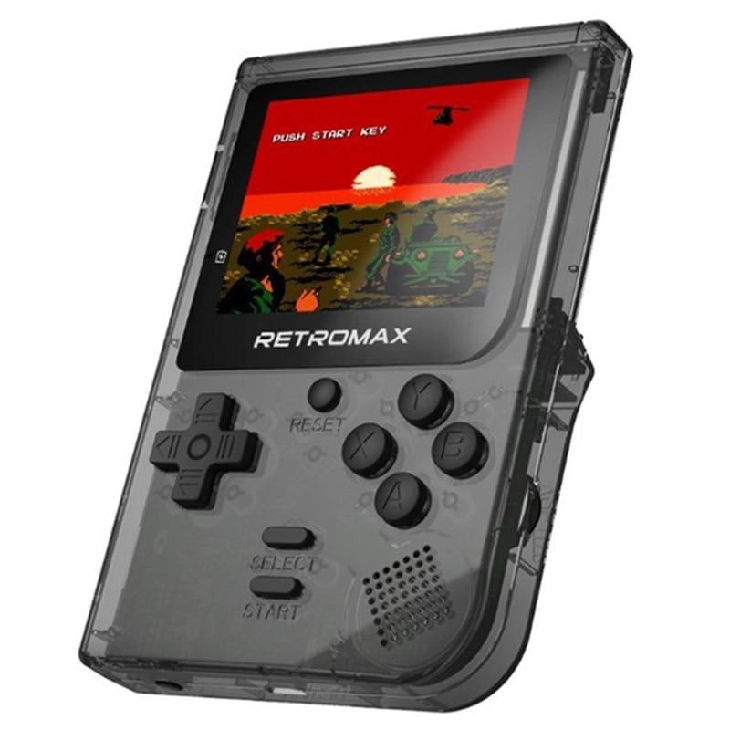 Retro console di gioco portatile portatile fc GamePad Tetris Console educative per bambini con schermo a colori da 3 pollici 181 giochi integrati
