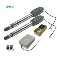 880lbs 400 kg Borboleta Unidade porta automação porta swing portão motor linear com transmissor do carro Elétrico kit cor Opcional