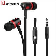 Original in-Ear Mobile Phone Earphones Head phone Noodle Line + MIC Stereo Music Bass Noise Cancelling Sound Quality Headset