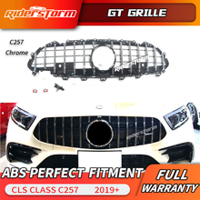 2019 C257 CLS For GT grill ABS grille for Mercedes CLS53 CLS400 CLS350 CLS450 Replacement front C257 grille front grill