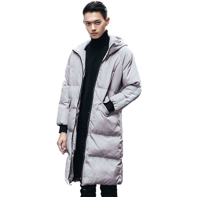 Big Size S-5XL Men Down Winter Parka Hooded Long Sleeve Thicken Warm Quilted Jackets Male Down Cotton Wadded Coat Outwear New носки 4 пары quelle h i s 206458