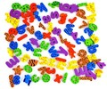 42pcs/set (26 Letters + 10 Numbers+6 animal ) water  stickers foam letters bath animals toy  children Bath toys