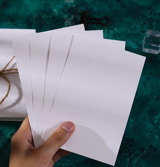 scrapbooking papéis ofício cartão que faz o cartão 10 50 100
