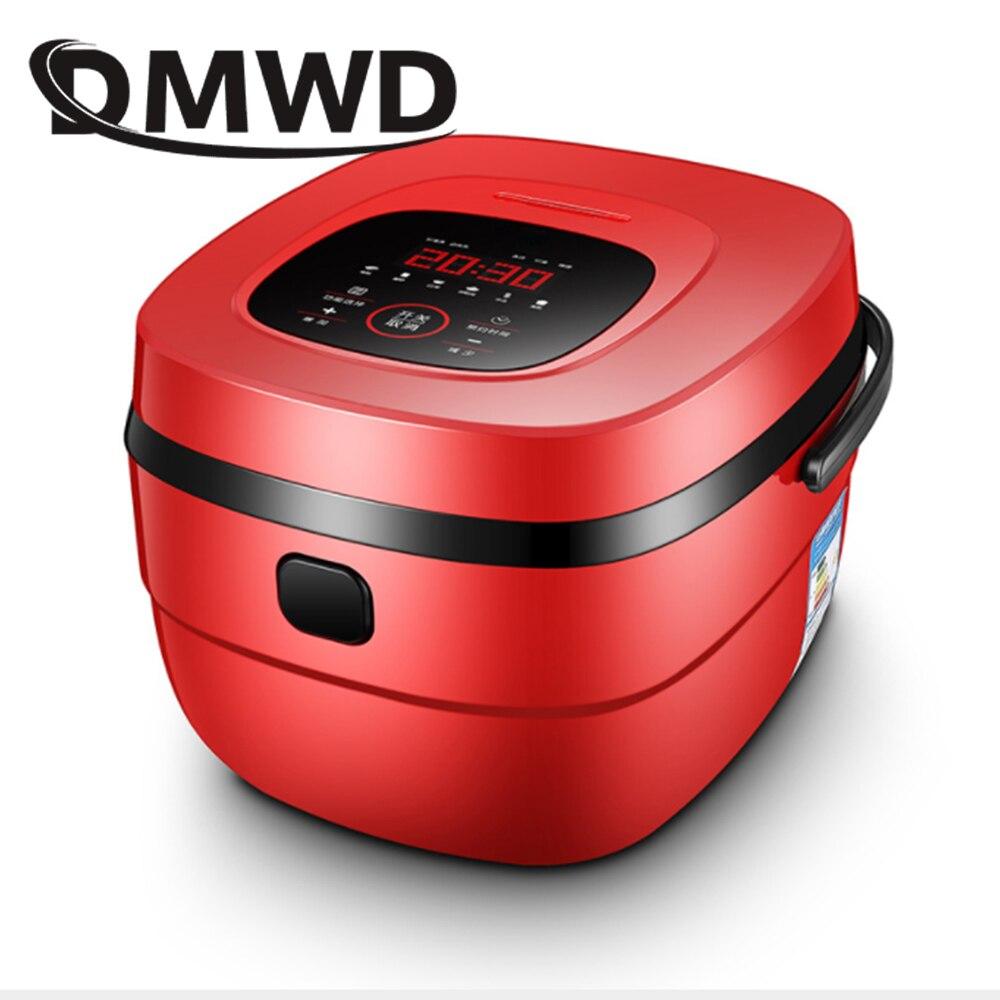DMWD 5L multifonction cuiseur à riz chronométrage réservation ragoût soupe cuisson Machine gâteau Leben yaourtière automatique cuiseur vapeur EU