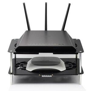 Image 2 - Nieuwe router koelrek USB 5 v 120mm hoge snelheid laag geluidsniveau speed reguleren koelventilator breedband kat TV set top box