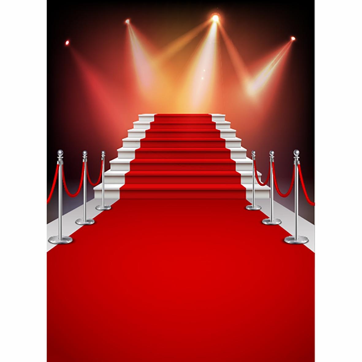 allenjoy photographie toile de fond blanc escaliers tapis rouge fond realiste photo studio nouveau design camera fotografica