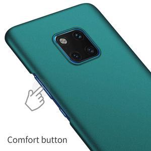Image 5 - Voor Huawei P40 Mate 20 Pro Mate 30 Pro Case, ultra Dunne Minimalistische Slim Beschermende Telefoon Case Back Cover Voor Huawei Mate 20 Pro