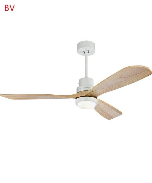 52/42 Inch Dorp Houten Plafond Ventilator Met Verlichting ...