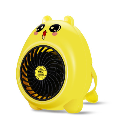 Dropshipping Cartoon Heater Fans Portable Handy Mini Personal Ceramic Space Heater Stove Electric Winter Warmer Fan electric portable heater handy durable mini room fan indoor ceramic space heater electric winter warmer fan for office home 220v