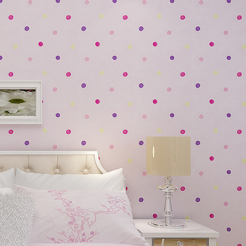 D Wallpaper For Kids Room Wallpaper Designs Colorful Bubbles - Light pink wallpaper for bedrooms