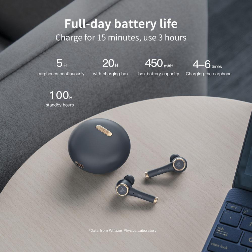 New TP1 TWS 5.0 Bluetooth headphone 3D stereo wireless earphone fone de ouvido kulaklık наушники with dual microphone