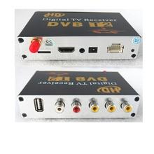 Mobile Digital Car DVB T2 HD 1080P External Auto Tuner 100Km h Digital TV Receiver Box