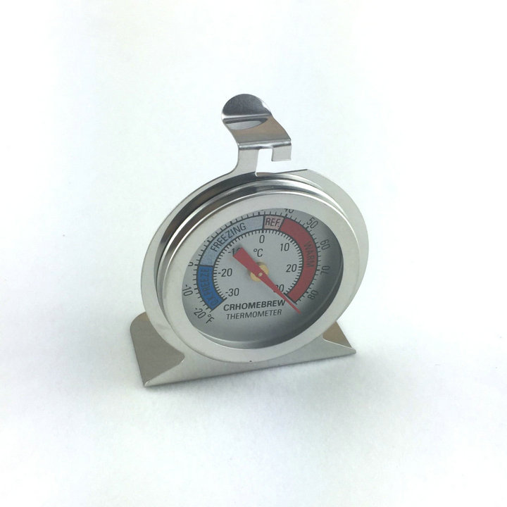 2pcs Homebrew thermometer Kegorator Draft Beer thermometer