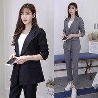 B6 в Корейском стиле; модная повседневная женская обувь комплект из двух Костюм из нескольких предметов Тонкий темперамент b67086