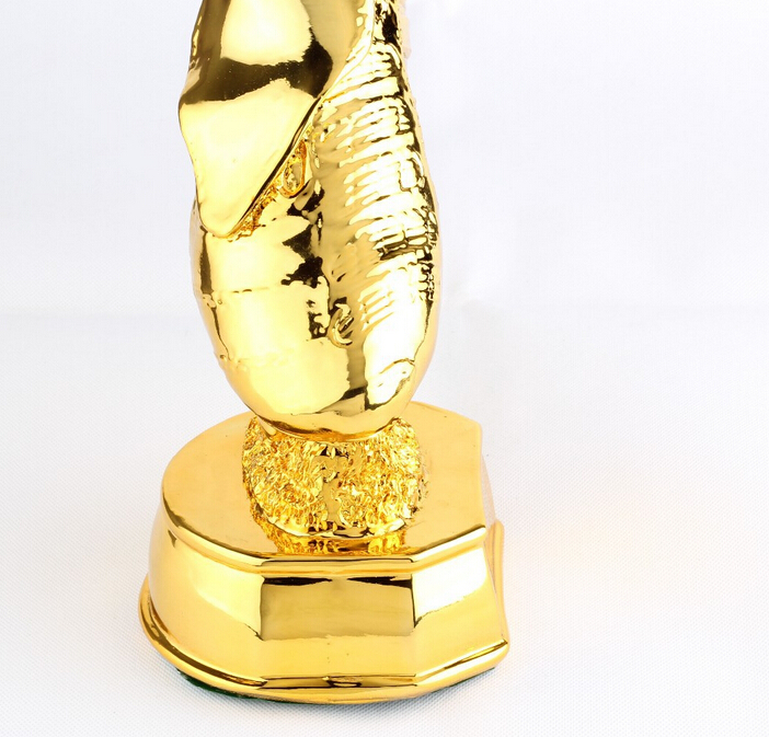 Football Champion Gold Boot Trophy For Decoration And Sports Event Real Size Fan Souvenir In Souvenirs From Entertainment On Aliexpress
