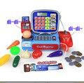 Mini tienda de supermercado de compras tienda minimarket hasta registro cajero simulación muebles comprobación pretend play house toy