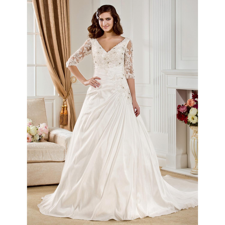 LAN TING BRIDE Ball Gown Wedding Dress Strapless Short