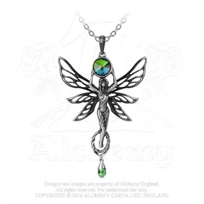 Alchemy of England P763 The Green Goddess Pendant платье city goddess city goddess ci009ewxqp44