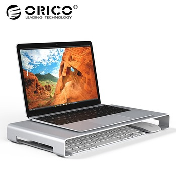 ORICO Aluminum Laptop Stand Desk Dock Holder Bracket for Apple iMac/Tablet/ MacBook Pro/PC/Notebook Base Portable Computer Stand