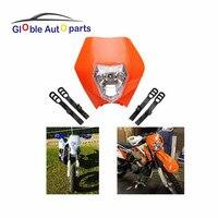 FREIES VERSCHIFFEN 4 Farbe Motorrad Dirt Bike Motocross Supermoto Universal scheinwerfer Verkleidung KTM SX EXC XCW EXCF SX SXF 125 250