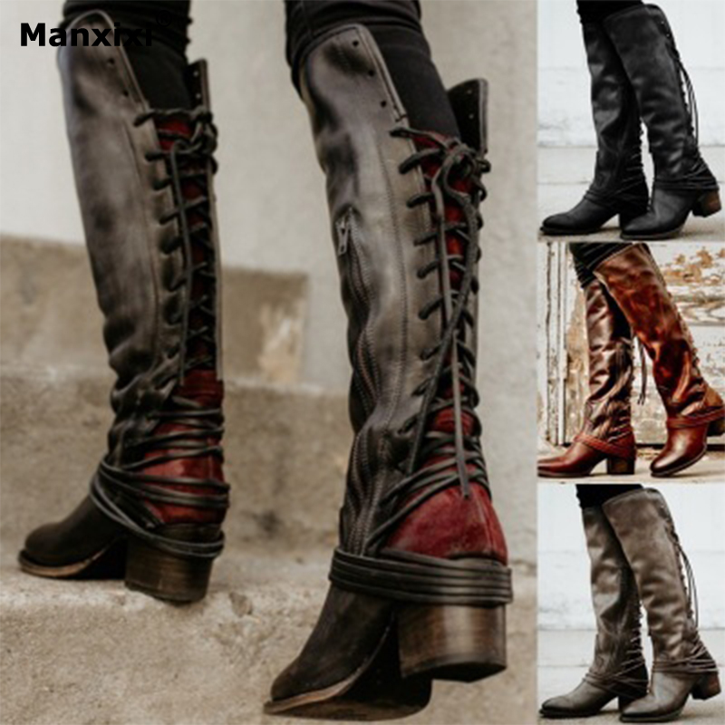 Booties woman 2018 autumn female shoes rivets short boots retro thick low heel boots Martin boots plus size women's winter boots whitesun plus size boots women martin boots autumn winter shoes female ankle boots buckle retro style chunky heel short boots