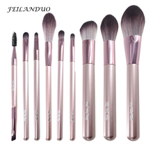 11 Pcs Makeup Brushes Set For Women Fashion Professional Cosmetic Tools Eyebrow Eyeshadow Beauty Foundation Makeup Burshes Kits lit 11 in 1 professional cosmetic makeup brushes set brown coffee 11 pcs