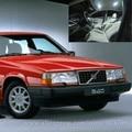 O Envio gratuito de 17 pçs/lote volt Branco 12 Interior de Carro Luzes LED Para Volvo 940 1991-1995