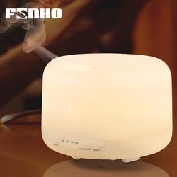 FUNHO 500 мл увлажнитель воздуха аромат эфирные масла диффузор ароматерапия Umidificador 7 светодио дный цветов изменить светодиодный ночник для дом...