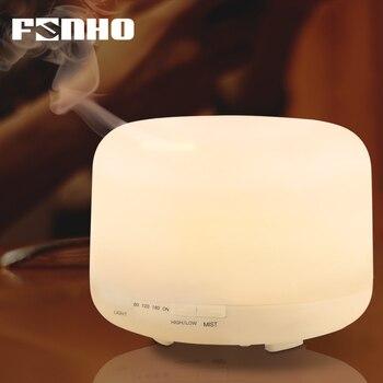 FUNHO 500 мл увлажнитель воздуха аромат эфирные масла диффузор ароматерапия Umidificador 7 цветов изменить светодиодный ночник для дома 168