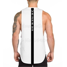 a8a50681 Brand bodybuilding stringer clothing gyms tank top men fitness singlet NO  PAIN NO GAIN printed back