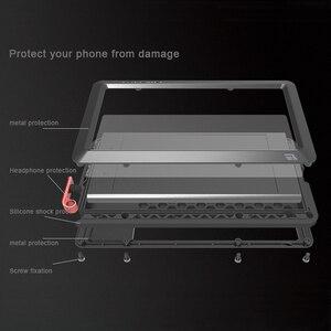 Image 4 - الحب mei قوي معدن حالة لسوني اريكسون XZ1 الثقيلة واجب الألومنيوم صدمات غطاء الهاتف القضية لاريكسون XZ1 الموت المدمجة