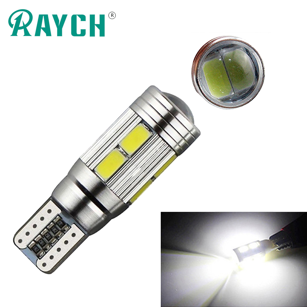 10x Led T10 W5w Canbus Error Free Car Cob Tail Side Lamp Backup Bulb Light White Online Shop Accessories